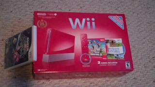 Wii 25th Mario Anniversary Bundle Unboxing