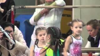 Карина спортивная гимнастика - брусья 1-й юношеский разряд/Karina Artistic Gymnastics Bars