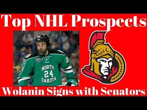 Top NHL Prospects - Senators Sign Christian Wolanin
