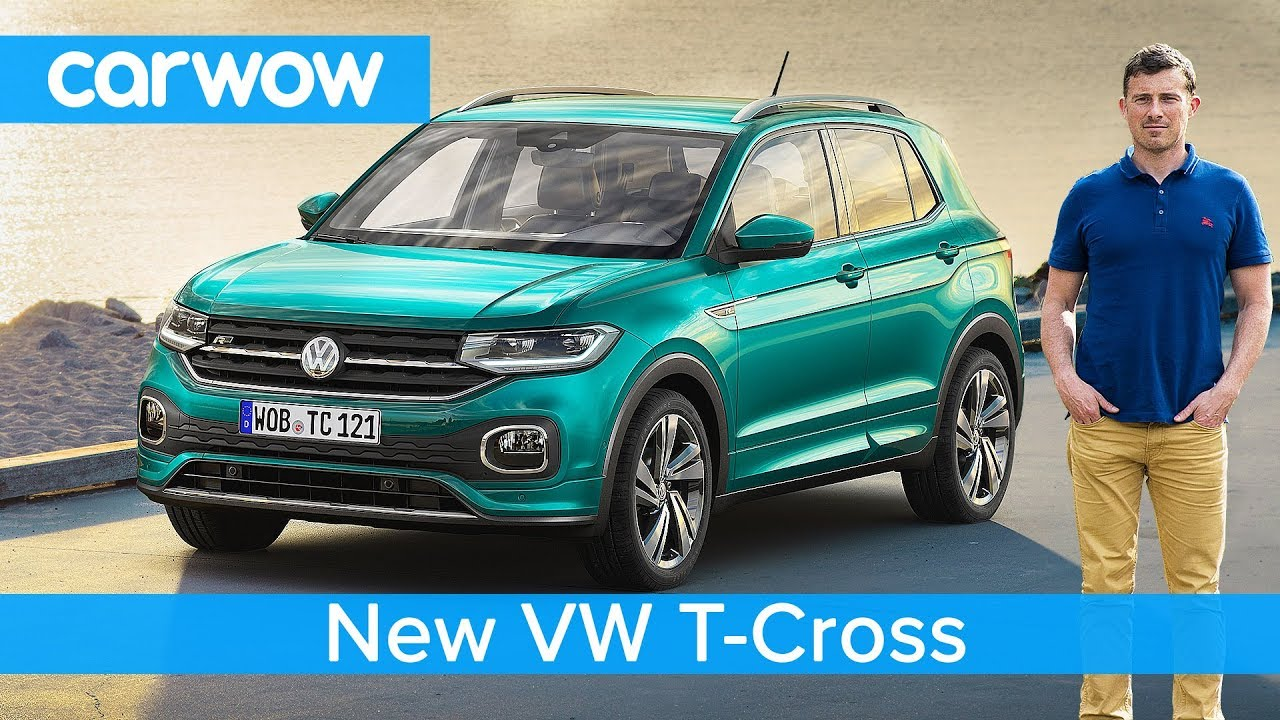 all new vw t cross suv 2019 revealed all you need to. Black Bedroom Furniture Sets. Home Design Ideas