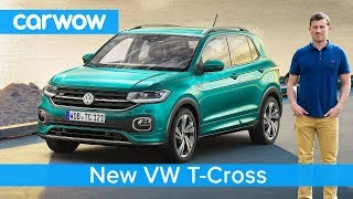 All-new VW T-Cross SUV 2019 revealed - all you need to know about this Polo-based crossover