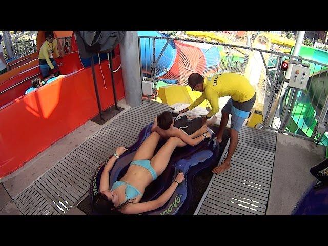 Master Coaster Water Slide at Vana Nava Hua Hin Water Jungle