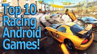 Top 10 Best Free HD Racing Android Games 2014