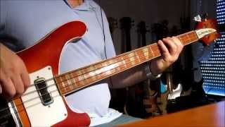 Deep Purple - Space Truckin Bass Cover