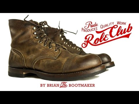 Red Wing Iron Ranger Resole #13