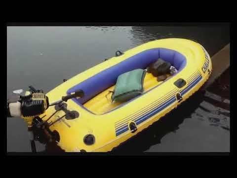 Подвесной мотор и транец своими руками для лодки Challenger-2