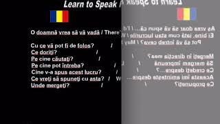 Learn to Speak Romanian 12. Starting a conversation