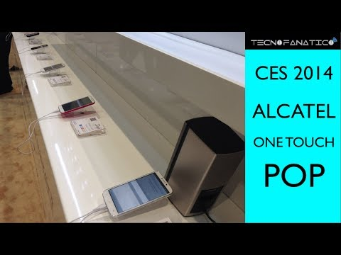 CES 2014 Alcatel One Touch POP C9, C7, C5, C3, C1