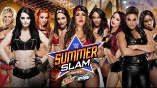 WWE SummerSlam 2015 ► Divas Revolution [OFFICIAL PROMO HD]