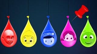 Niloya, Pepee, Tospik, Mete ve Keloğlan ile Boya Balonlarını Patlatarak Renkleri Öğreniyoruz