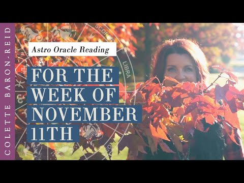 Astrology Oracle Card Reading for the Week of November 11th
