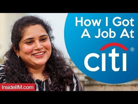 How I Got A Job At Citibank | Ft. Radha Thali