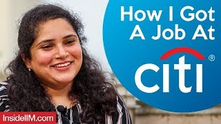 How I Got A Job At Citibank | Ft. Radha Thali