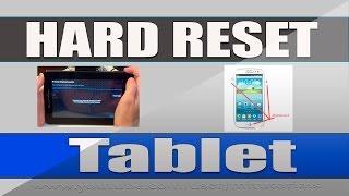 Como fazer hard reset no Tablet  Android - MiTutoriais