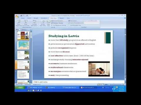 Study in Latvia - Student Visa Process