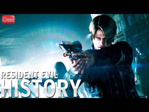 History of - Resident Evil (1996-2013)
