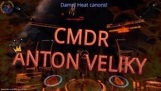 Elite dangerous PVP FDL(Heat canons) vs FAS