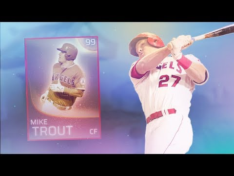 99 Mike Trout Debut! MLB The Show 18 | Diamond Dynasty