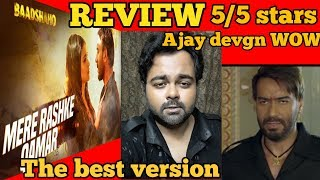"""Mere Rashke Qamar"" Song 