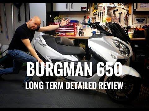 2018 Suzuki Burgman 650 Executive - Long Term Review