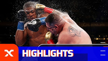 Sensations-K.o.! Ruiz entthront Joshua: Anthony Joshua vs. Andy Ruiz Jr. | Highlights | SPOX