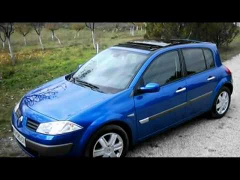 renault megane 2 panoramic youtube. Black Bedroom Furniture Sets. Home Design Ideas