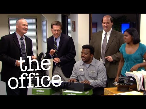The Dunder Mifflin Commercial Song - The Office US