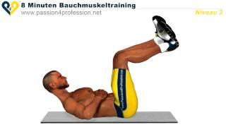 Perfektes Bauchmuskeltraining in 8 minuten. Niveau 2 by P4Pdeutsch