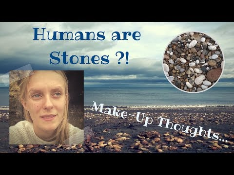 My Vegan Pregnancy In Africa - Visit to the west... Make-Up & why Humans are like Stones