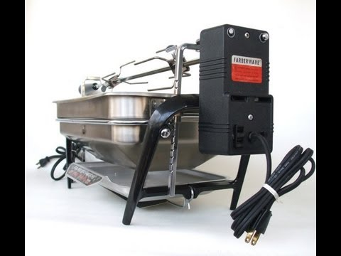 Farberware Open Hearth Rotisserie Grill Demo For Sale On EBay
