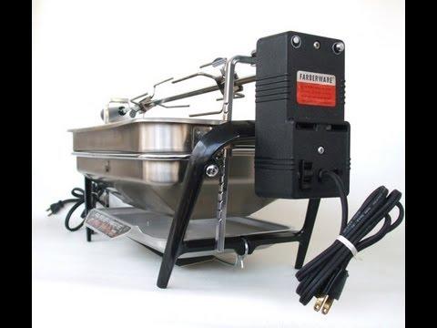 Farberware Open Hearth Rotisserie Grill Demo for sale on ...