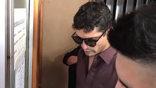 Rodrigo Romero, el actor de la película Rodrigo, en Tribunales de Río Cuarto