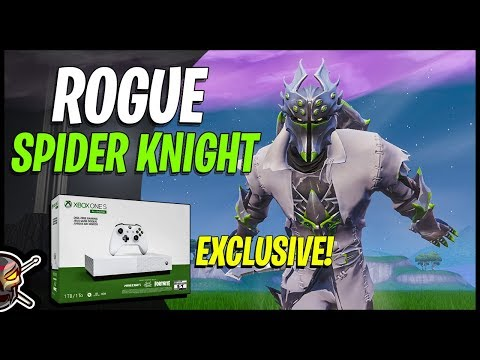 The NEW Xbox Exclusive ROGUE SPIDER KNIGHT - Gameplay And Combos - Fortnite