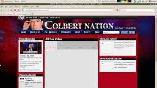 How to watch tнe Daily Show and Colbert Report Outside the US