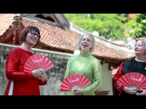 When Canadian diplomats sing Vietnamese Quan ho folk song
