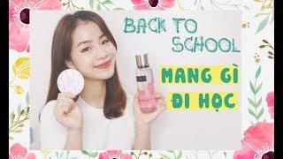 Back To School ♡ Mang Gì Khi Đi Học ♡ Giveaway ♡ Quin