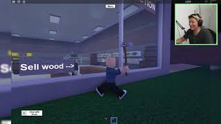 so Builders Slash trees Roblox Lumber Tycoon 2 Indonesia Gameplay