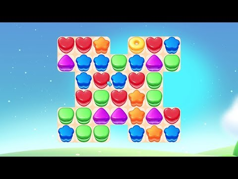 Cookie Blast Fever - Match 3: Sweet Baking Journey - Official Trailer