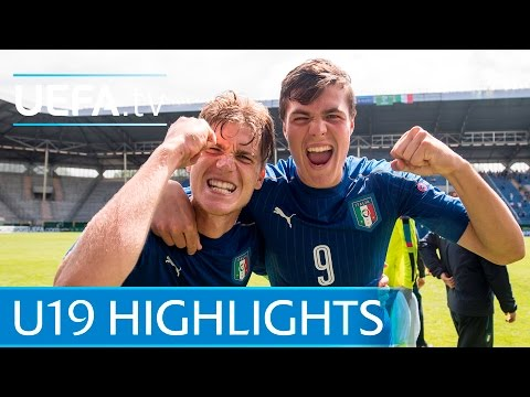 Under-19 Highlights: England 1-2 Italy