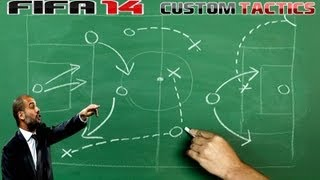 Game | FiFA 14 Custom Tactics My Game Settings | FiFA 14 Custom Tactics My Game Settings