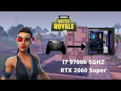 Me Using Controller On Pc... Fortnite Battle Royale