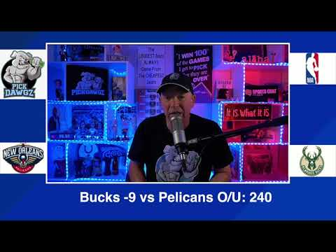 Milwaukee Bucks vs New Orleans Pelicans 2/25/21 Free NBA Pick and Prediction NBA Betting Tips