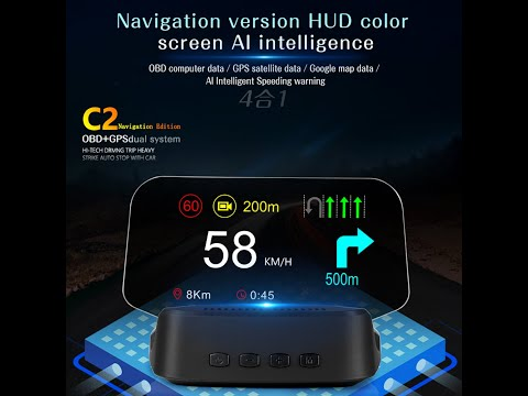 DFx Singapore: HUD SG-C2 Head Up Display with GPS and Navigation