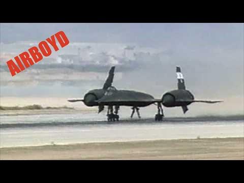 SR-71 Takeoff Edwards Air Force Base