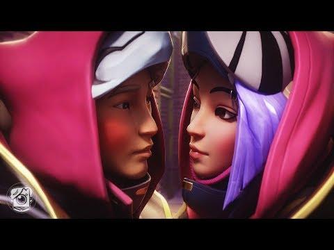 THE FIRST KISS... | DRIFT & CATALYST *SEASON X* (A Fortnite Short Film)
