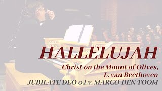 Hallelujah (Christ on the Mount of Olives, Beethoven) - JUBILATE DEO, WOUDENBERG