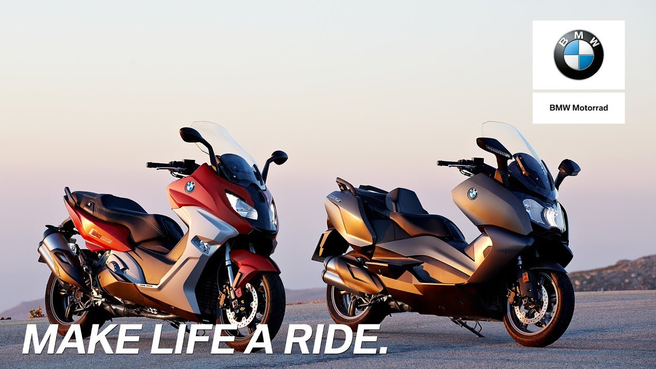 IN THE SPOTLIGHT: The new BMW C 650 Sport and the new BMW C 650 GT