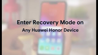 How to Enter Recovery Mode on Huawei Y6 - Exit Recovery Menu / How