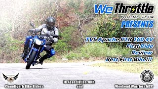 2018 TVS Apache RTR 160 4V - Review/First ride/Impression