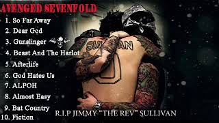 Gambar cover AvengedSevenfold  - The Best Song The Rev Full Album